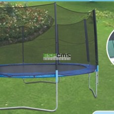 Popular in Europe Outdoor Play Equipment Beds Trampoline with CE Approved Standard 12179B