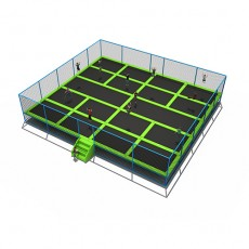 The most popular best outdoor trampoline with enclosure (TP1506-9)