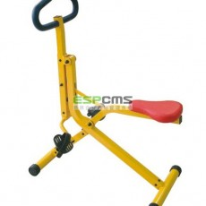 Eco-friendly different shape spacious low cost outdoor fitness equipment 12172F