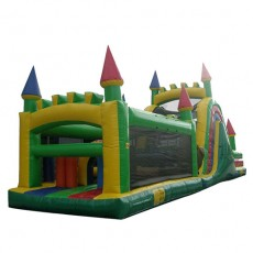 New Inflatable Bounce Playground with Slide (C1283-2)