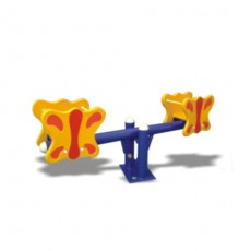 New Design Outdoor Playground Double Seesaw (LJ-6802)