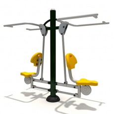 eurpean standard eco-friendly outdoor fitness equipment 12163A