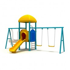 New Style Outdoor Playground Swing (LJS-004)