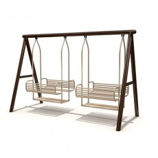 New Style Outdoor Playground Swing (LJS-011)