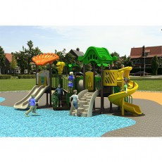New Designer Kids Plastic Outdoor Playground (12011A)