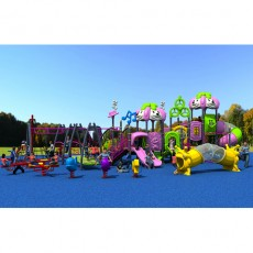 New Design Disneyland Series Plastic Outdoor Playground(LJ16-049A)