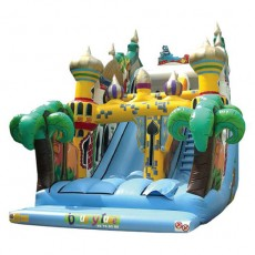 New Inflatable Bounce Playground with Slide (C1281-7)