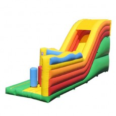 New Inflatable Bounce Playground with Slide (C1281-4)
