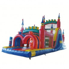 New Inflatable Bounce Playground with Slide (C1283-4)