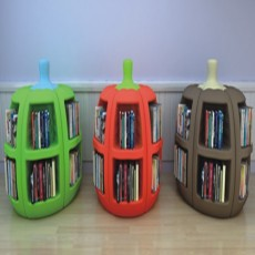 Variety bright color  attractive fashionable bookshelf G1401-6