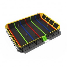 International particular magnetive cheap trampoline enclosures (TP1506-6)