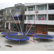Good Quality ASTM Approved Bungee Trampoline (TB1201-9)
