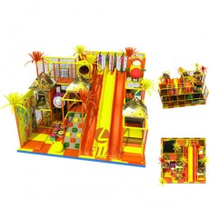 soft play equipment for sale indoor slides for kids playrooms(T1504-3)