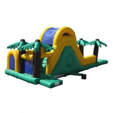 New Inflatable Bounce Playground with Slide (C1281-1)