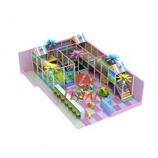 Kids home playground sets indoor playhouse with slide(T1506-8)