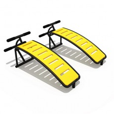Abdominal Boards Outdoor Fitness Equipment (14503)