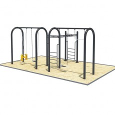 Low cost high strength commercial playground swings (QQ1501-11)