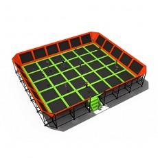 Wide area ergonomic design the cheapest trampoline (TP1506-4)