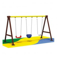 Entertainment bright color commercial outdoor play swing (QQ1501-10)