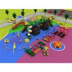Climbing Net Outdoor Body Building Playground(LJ16-246A)