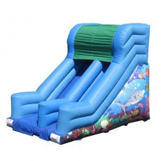 New Inflatable Bounce Playground with Slide (C1281-3)