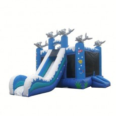 New Inflatable Bounce Playground House with Slide(C1291-8)