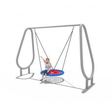 Welcomed charming standard outside swings for kids (LJS-1502)
