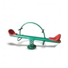 New Design Outdoor Playground Double Seesaw (LJ-6704)
