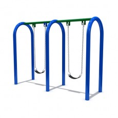 New Style Outdoor Playground Swing (LJS-012)
