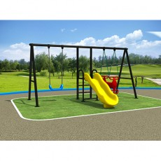 China Manufactory Fun Interesting Kids Outdoor Swing LJ1403-1