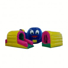 New Inflatable Bounce Playground House with Slide(C1291-7)