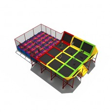 Most popular wonderful clearance trampoline with enclosure (TP1506-12)