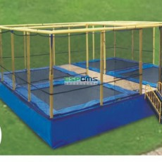 Vintage business center polarized superior trampoline bed 12177E