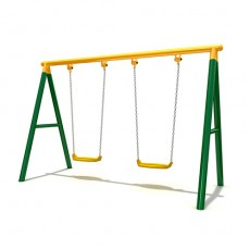 New Style Outdoor Playground Swing (LJS-001)