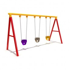 New Style Outdoor Playground Swing (LJS-005)