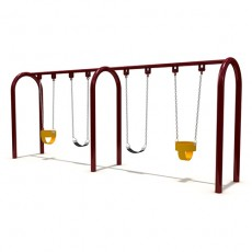 New Style Outdoor Playground Swing (LJS-007)