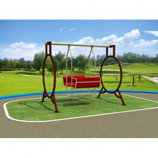 new looking High Quality Outdoor Interesting Combined Swing LJ1403-6