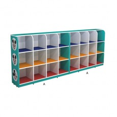 bright color good fun commercial  toys cupboard G1290-6