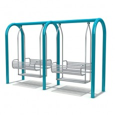 New Style Outdoor Playground Swing (LJS-006)