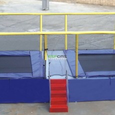structures fantastic  attractive inflatable trampoline rental  12177F
