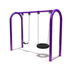 New Style Outdoor Playground Swing (LJS-008)