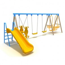 New Style Outdoor Playground Swing (LJS-002)