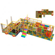 childrens indoor play equipment commercial indoor playsets(T1504-4)