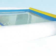 slide & tube  happy  recycled   inflatable boat with electric motor    C1234-7
