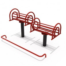 Waist and Back Stretcher Outdoor Fitness Equipment (14401)