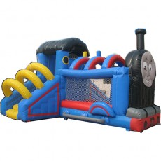 New Inflatable Bounce Playground with Slide(C1290-8)