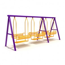 New Style Outdoor Playground Swing (LJS-003)