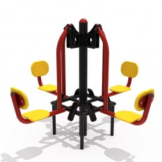 Quadruple Leg Press Outdoor Fitness Equipment (14107)