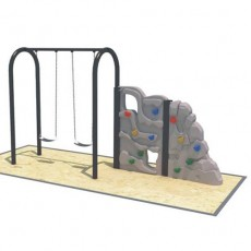 Most popular multicolors modern discount swing set (QQ1501-8)