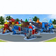 Dream Of  Pleasure Island Children Outdoor Playground Euiqpment (LJ16-009A)